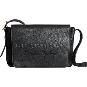 BURBERRY Small Burleigh Leather Crossbody Bag